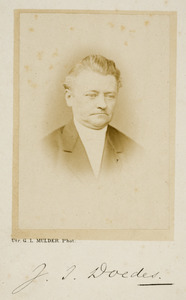 Portret van Jacobus Isaac Doedes (1817-1897)