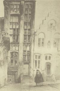 Oude gevels in Brugge