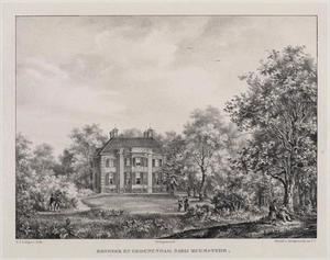 Park met gezicht op de hofstede Bosbeek en Groenendaal