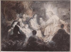 Christus en de apostelen