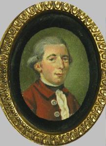 Portret van Cornelius Henricus Johannes Anthonius Franciscus Speyart van Woerden (1753-1805)