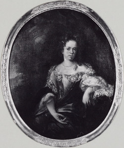 Portret van Anna Catharina Stipel (1663- )