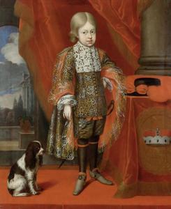 Portret van Kaiser Joseph I. (1678-1711) op zesjarige leeftijd