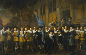 Het korporaalschap van kapitein Jan Cleasz. Vlooswijck en luitenant Gerrit Hudde, Amsterdam