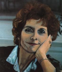 Portret van Constance van der Valk