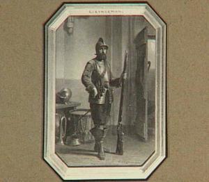 Zeventiende-eeuwse soldaat