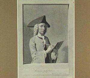 Portret van de kunstenaar Hendrik Spilman (1721-1784)
