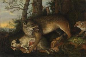 Wolf, vos en schaap