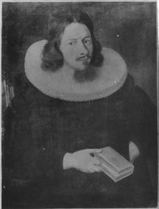 Portret van jurist Jens Hansen Ørbech (1656-1716), dominee in Hafslo