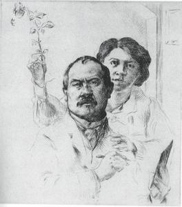 Zelfportret met echtgenote