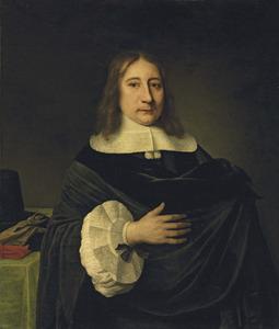 Portret van een van de gebroeders Van der Burch, mogelijk Arent van der Burch (1621-1691)