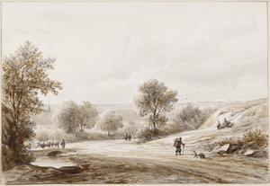 Landweg te Schouthoff bij Bentheim