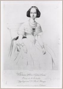 Portret van Sophia van Oranje-Nassau (1824-1897)