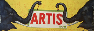 Tram-Affiche: Artis Zoo