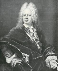 Portrait of Prins Frans II Rákóczi II (1676–1735)