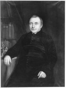 Portret van Johannes Lambertus Bekker (1804-1873)