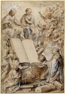 Titelpagina van L. Blosius, Opera, Antwerpen 1631