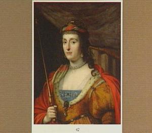 Portret van Elizabeth, koningin van Bohemen