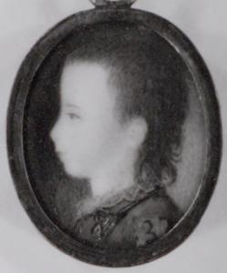 Portret van Frederik van Oranje- Nassau (1774-1799)