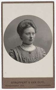 Portret van Elisabeth de Vries