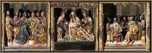 Christus wast de voeten van de apostelen, Het Laatste Avondmaal, de bewening