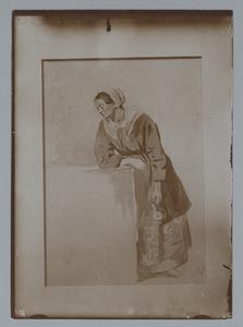 Figuurstudie van een vrouw