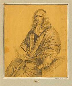 Portret van Gaspar Netscher