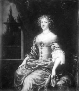 Portret van Frederika Amalia (1649-1704)