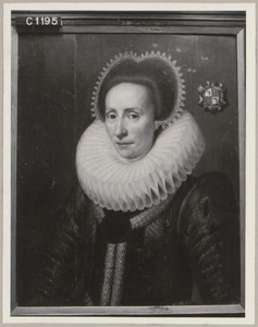 Portret van Catharina Winkelman (1576-1647)