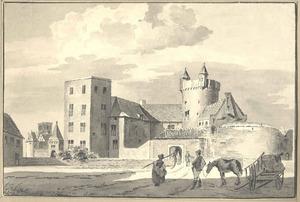 Gezicht op kasteel Culemborg