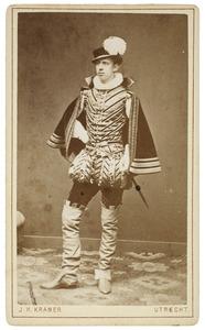 Portret van August Lewis John Melvill van Carnbee (1862-1918) als Heer van Maelstede