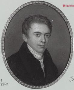 Portret van Ernst Hendrik Baron van Ittersum (1804-1853)
