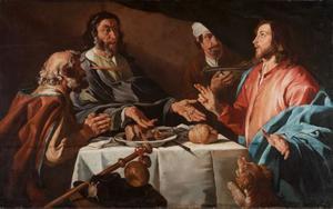 De maaltijd te Emmaus