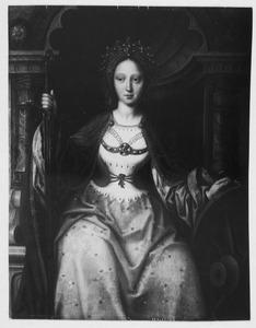 Tronende H. Catharina