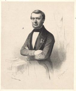 Portret van Louis graaf van Heiden Reinestein (1809-1882)