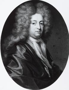 Portret van waarschijnlijk Isaac van den Bergh (1677-1728)