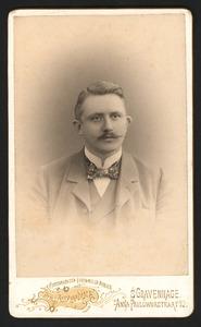 Portret van Burchard Theodoor Elias (1872-1939)