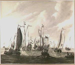 Bezoek van Tsaar Peter de Grote aan  Amsterdam, 1697