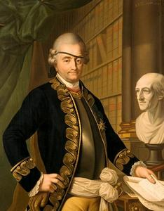 Portret van David Louis de Constant Rebecque (1722-1785)