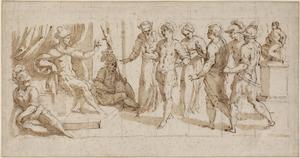 Drie martelaren voor een romeins prefect