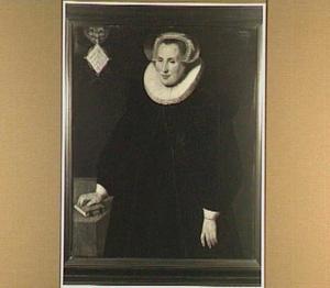Portret van Maria van Egmond van de Nyenburg (1558-1632)