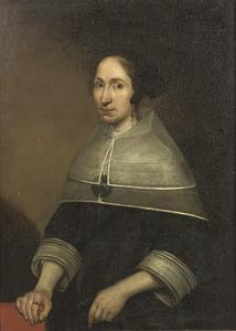 Portret van Christine van de Wart, echtgenote van Willem Craeyvanger