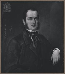 Portret van Joan de Jonge van Zwijnsbergen (1821-1881)