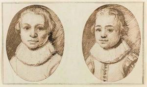 Portretten van twee jongens