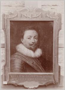 Portret van Willem van Nassau -Siegen (1592-1642)