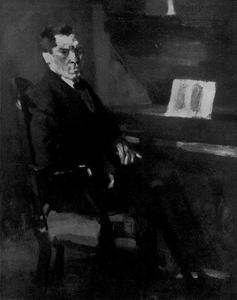 Portret van Augustus van den Hoeck (1863-1942)