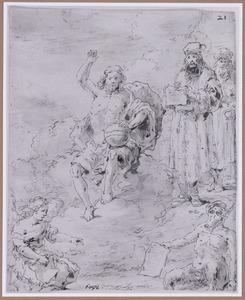 Christus als rechter (Suenos 1641, boek III, zesde droom)