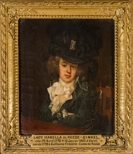 Portret van Christina Henrietta Maria Isabella van Reede -Ginkel (1770-1800)