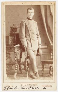 Portret van Henk Koorders (1863-1919)