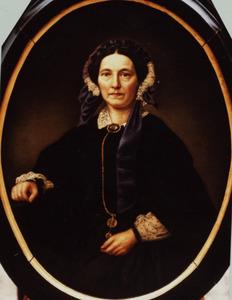 Portret van Helena van Enschut (1804-1864)